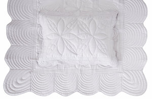 Bonne Mere Single quilt and pillow set Dove