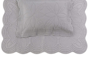 Bonne Mere Single quilt and pillow set Elephant grey