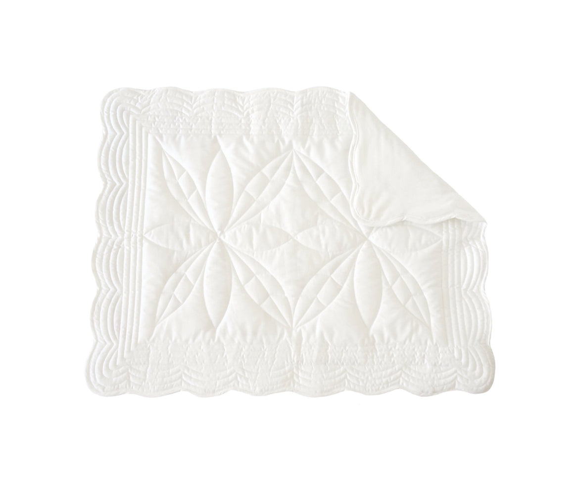 Bonne mere changing mat chalk off white