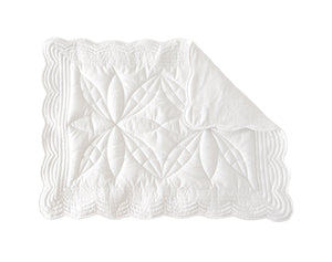 Bonne mere white baby changing mat