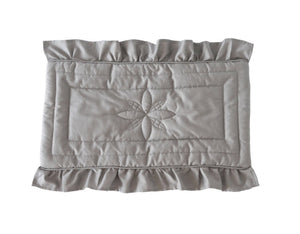 Bonne Mere dolls blanket elephant grey
