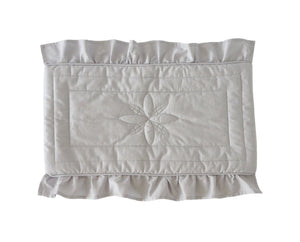 Bonne Mere dolls blanket dove grey