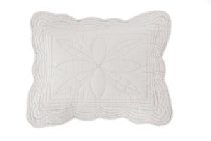 Bonne Mere cot playmat quilt and pillow set in mist