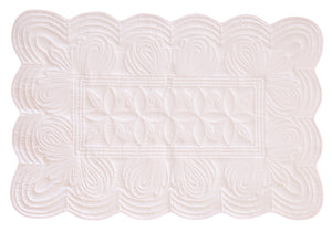 Bonne Mere cot quilt and playmat Powder