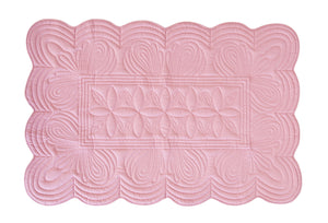 Bonne Mere cot quilt set and playmat Rose