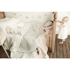 shell pink pure linen bassinet sheet sets