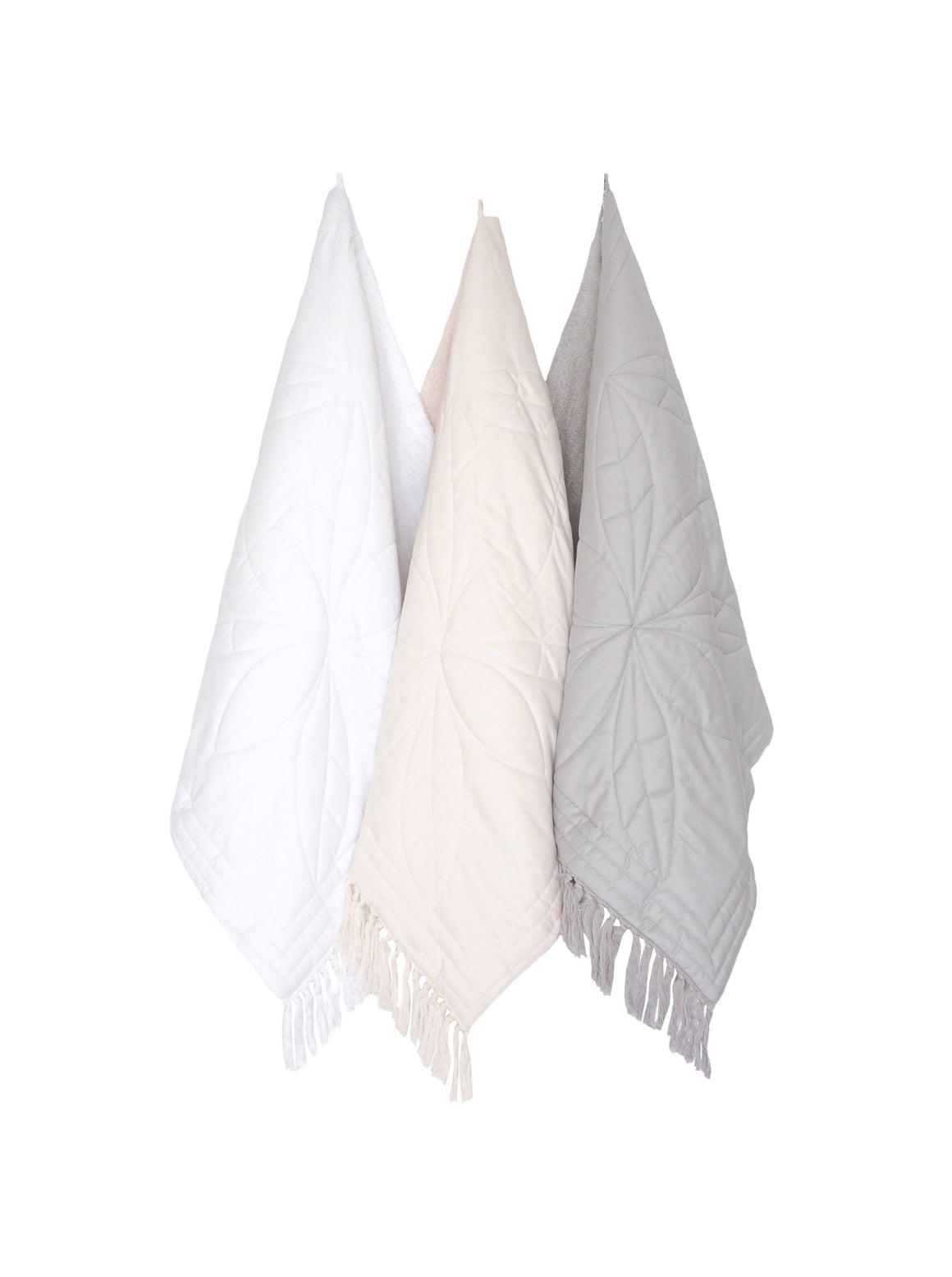Bonne Mere toddler and baby bath towel white
