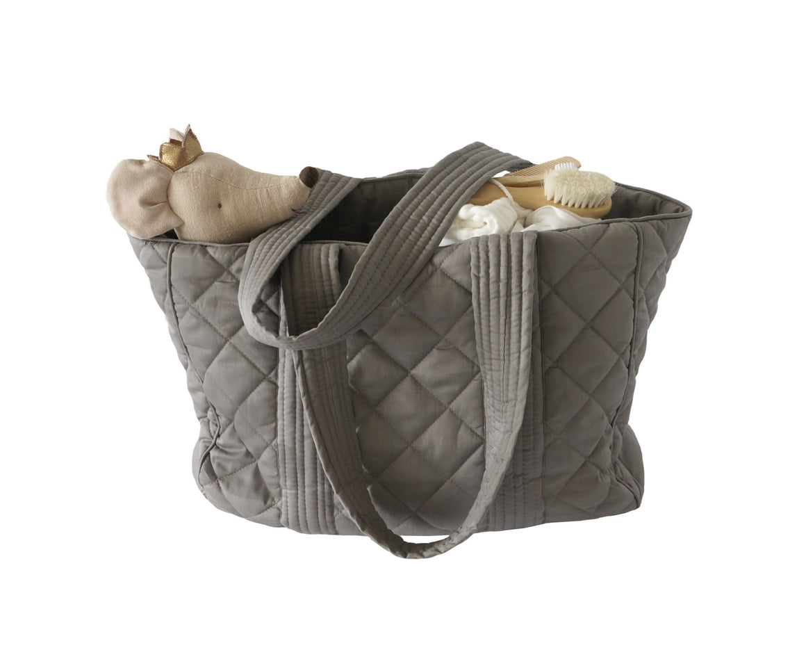 Bonne mere nursing bag for all mothers needs in colour elephant grey