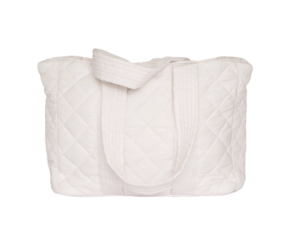 Bonne mere nursing bag for all mothers needs in colour powder
