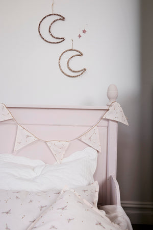 sweet nordic little girls nursery