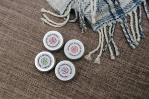 Set of 4 x 15ml Aromatherapy Facial Moisturisers with Natural Ingredients and Organic Essential Oils