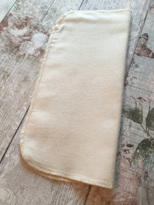 Organic Two-Sided Cotton Muslin Facial Cloth