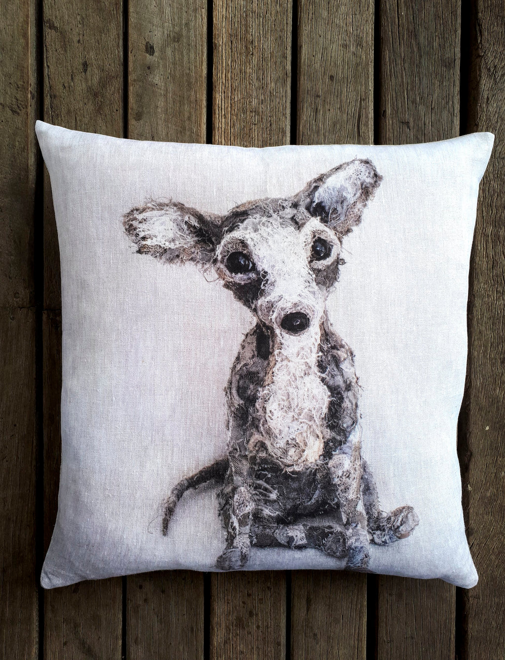 Archie Chihuahua Cushion - 2