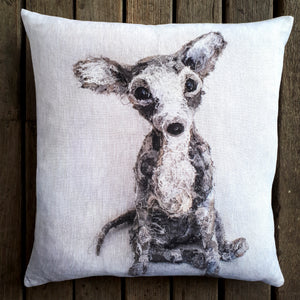 Archie Chihuahua Cushion 2 - COVER ONLY