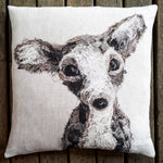 Archie Chihuahua Cushion - COVER ONLY