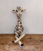 Clarence Longbottom - Giraffe Sculpture - SOLD