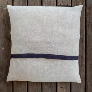 Porteus Pig Linen Cushion - COVER ONLY