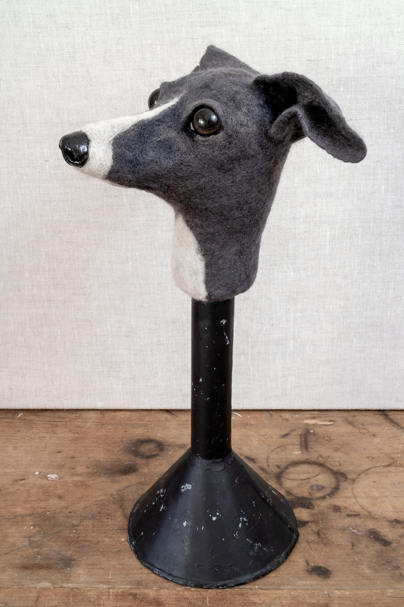 Ernest -  Felted Chihuahua Dog Sculpture