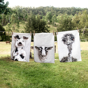 Walter the Sheep Tea Towel