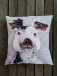 Porteus Pig Linen Cushion