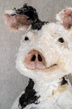 Porteus Pieboy - Pig Sculpture SOLD