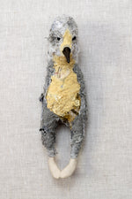 Stanley - textile bird sculpture