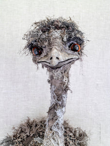 Emu Tea Towel