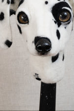 Wilma -  Felted Dalmation Dog Sculpture