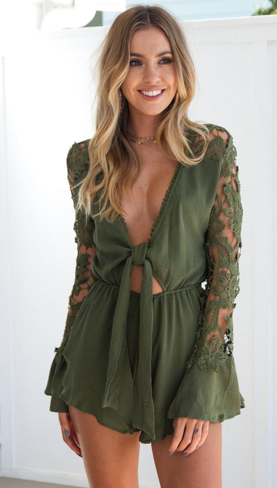 LOVE BOUND PLAYSUIT