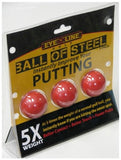 EYELINE GOLF BALL OF STEEL