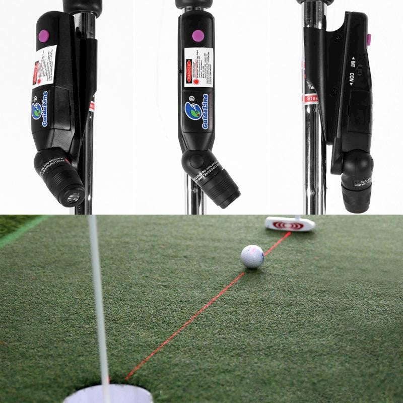 Outdoor Golf Putter Laser Sight Pointer Putting Training Aim Line Corrector Golf Practice Indoor Tra