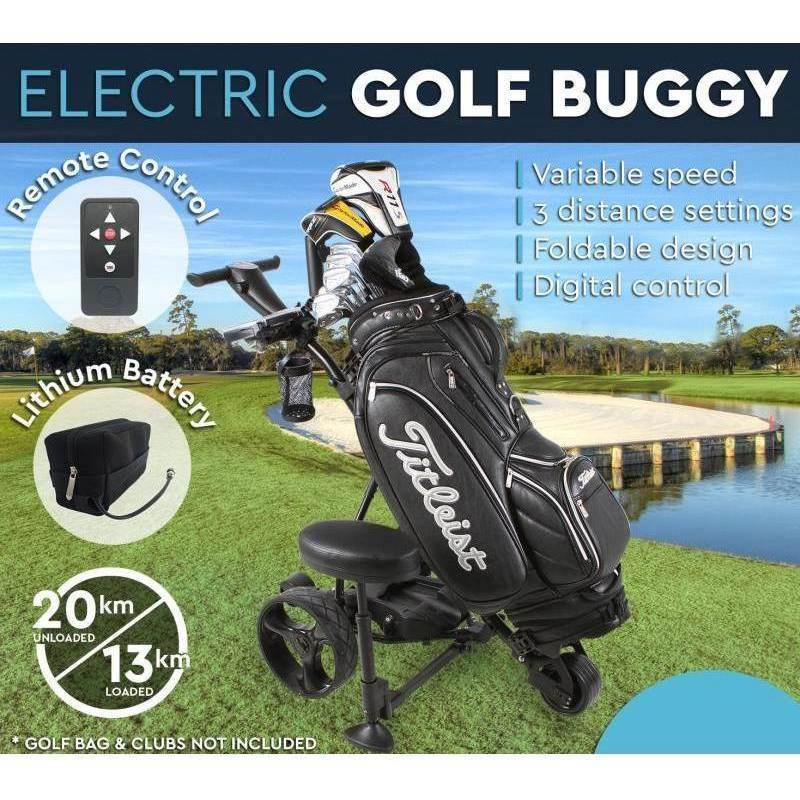 Electric Golf Buggy with Lithium Battery and Remote