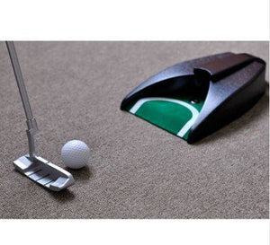 Indoor Golf Training Set - Golf Auto Putting Cup Ball Return System