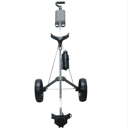 Foldable Golf Caddy - Tow Wheel Design & 2 Step Folding