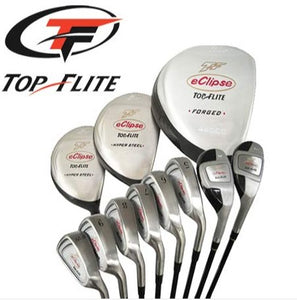 Top Flite Golf Complete Club Set Eclipse Graphite Mens Right Hand