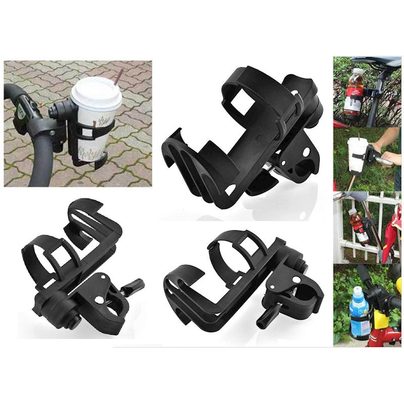 Baby Stroller Cup Holder Drink Bag Milk Bottle Pram Golf Buggy Wheelchair