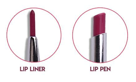 Double Ended Lipstick - Miss Rose 2 in 1 Lipstick & Lipliner
