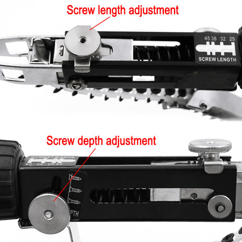 Automatic Screw Chain Adapter For Electric Drill - Cordless Power Drill Adapter Attachment