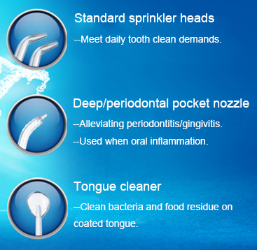 Cordless Dental Water Flosser