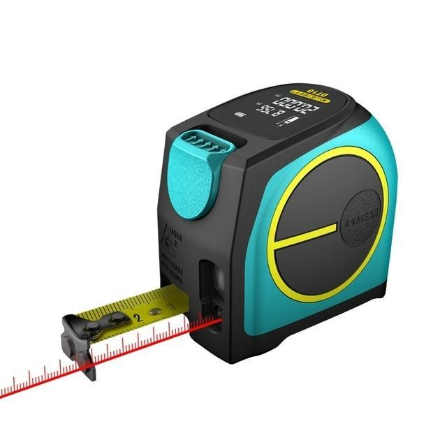 2-In-1 Digital Laser Tape Measure Tool - 40m