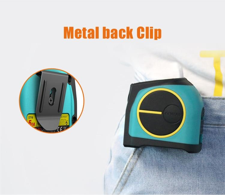 2-In-1 Digital Laser Tape Measure Tool