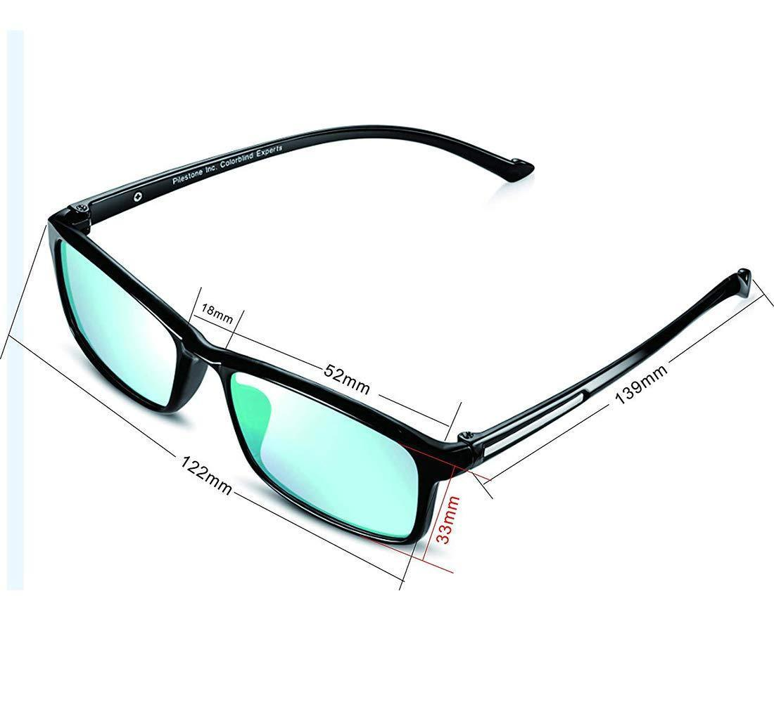 Corrective Color Blindness Glasses - Red Green Color Blind Correction Glass