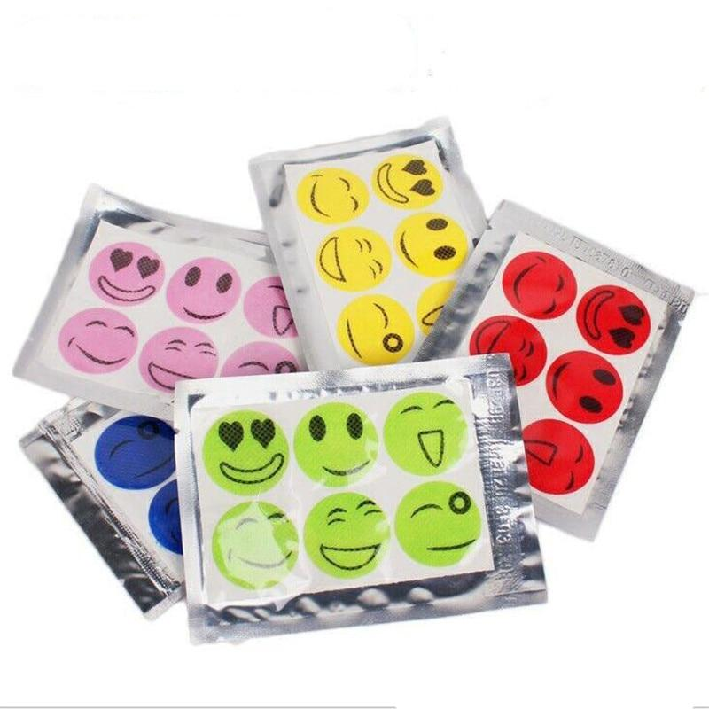 60pcs Mosquito Repellent Skin Patches Insect Bug Repellent Stickers - Repellents