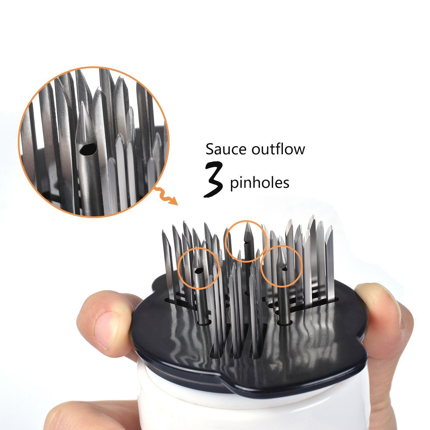 Professional Meat Tenderizer With Sauce Injector