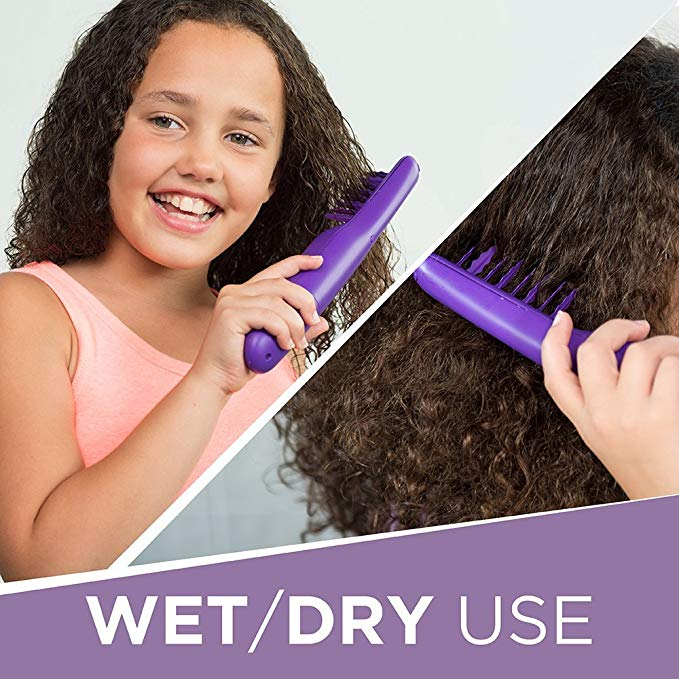 Electric Detangling Hair Brush For Wet Dry Hair - Adults & Kids - Home
