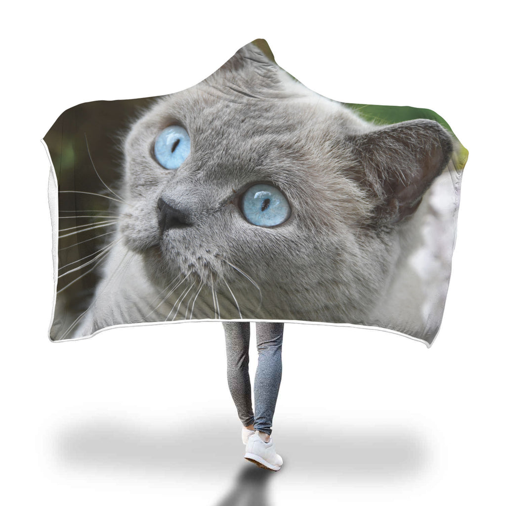Magical Cat Custom Hooded Blanket - Hooded Blanket