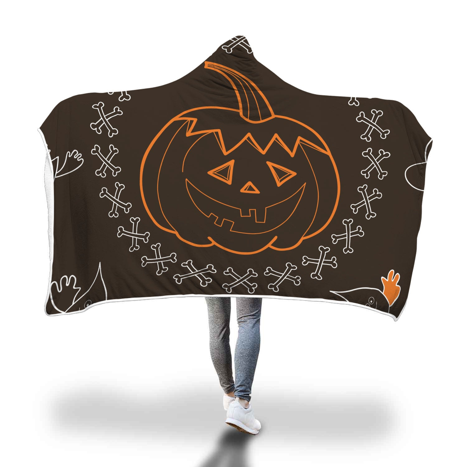 Halloween 1.0 Special Custom Hooded Blanket - Hooded Blanket