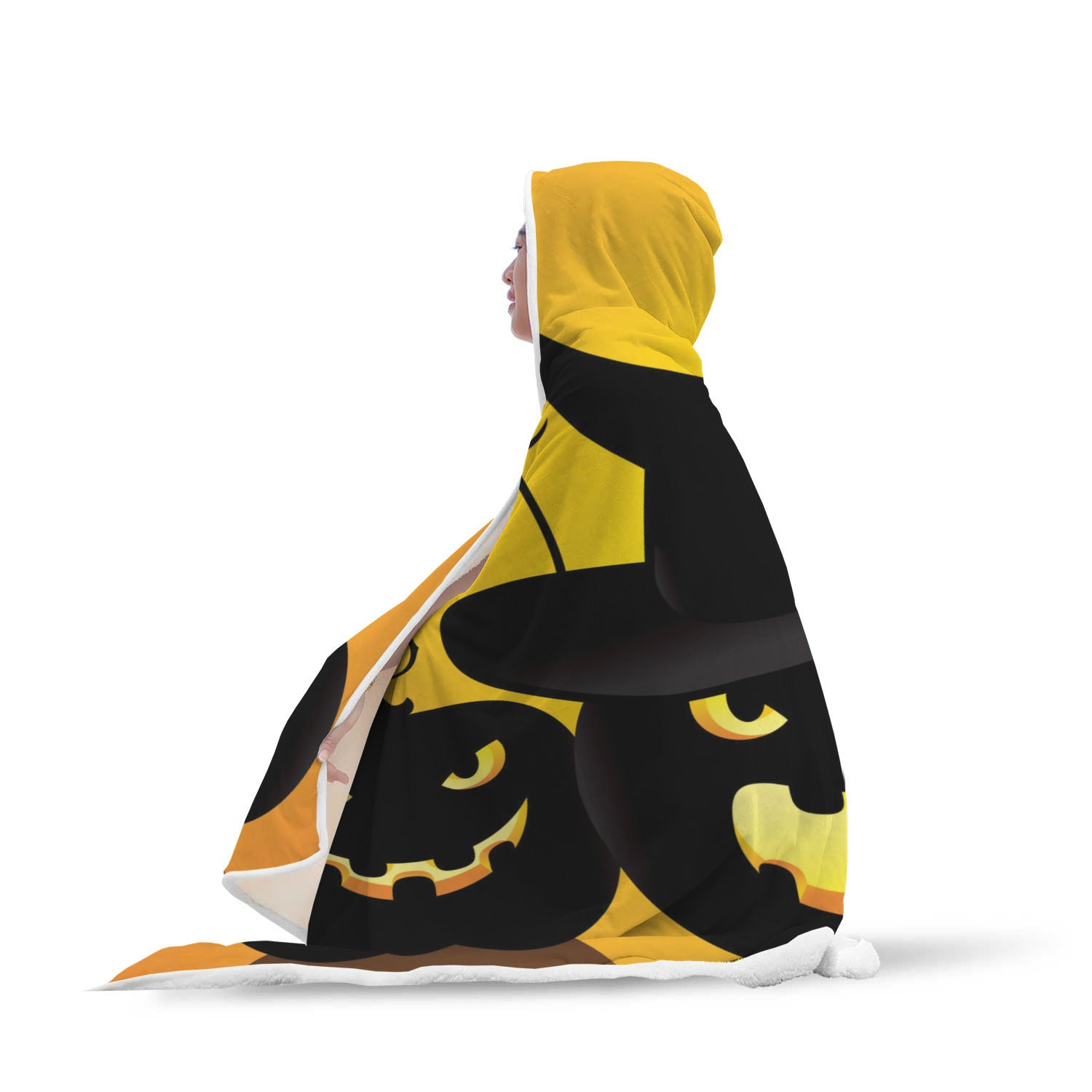 Halloween 2.0 Special Custom Hooded Blanket - Hooded Blanket