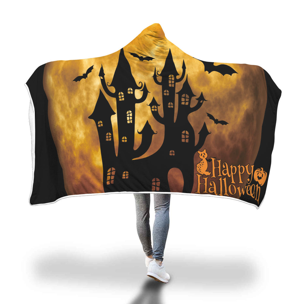 Halloween 3.0 Special Custom Hooded Blanket - Hooded Blanket