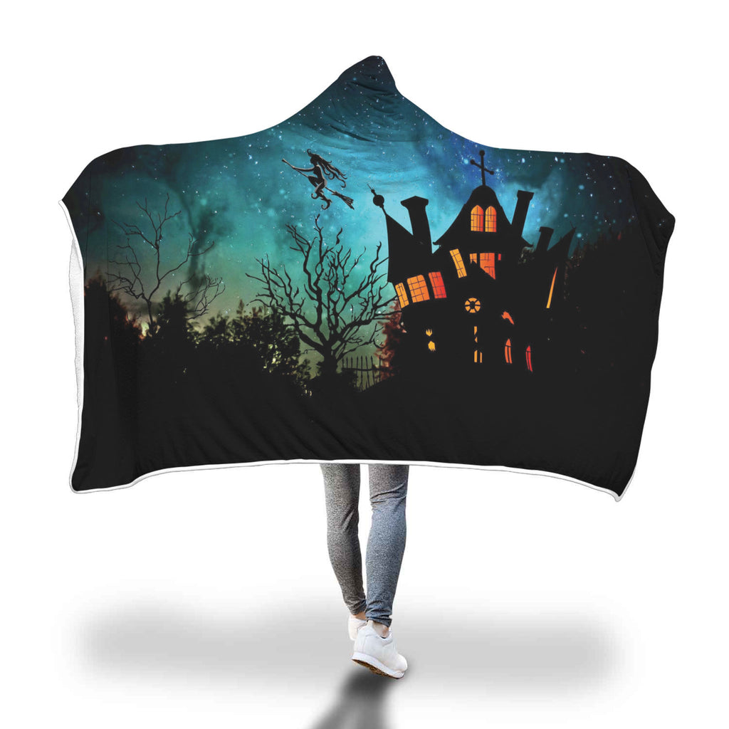 Halloween 5.0 Special Custom Hooded Blanket - Hooded Blanket